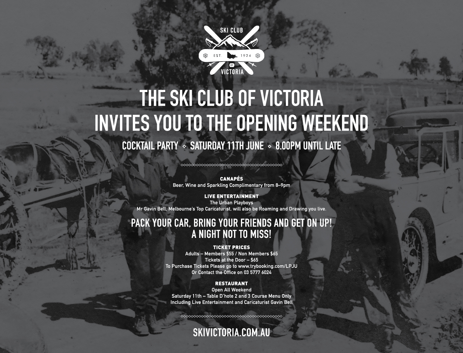 SCV Opening Weekend Party